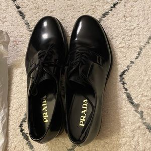 Never worn Prada Men's Dress shoes